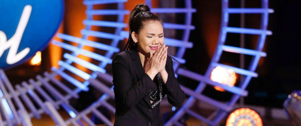 "PHOTO: Myra Tran appears on an episode of ""American Idol."""