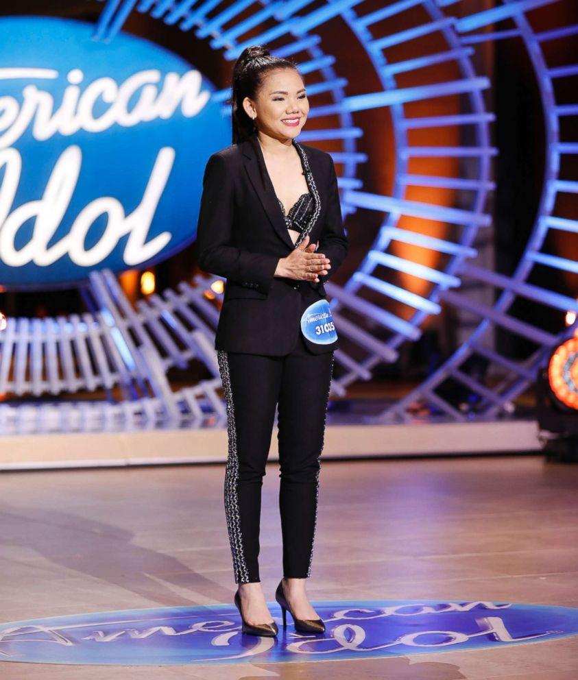 PHOTO: Myra Tran appears on an episode of American Idol.