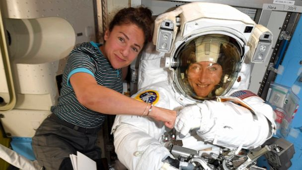 History-making all-female spacewalk is back on after 1st was canceled due to lack of right-size spacesuits