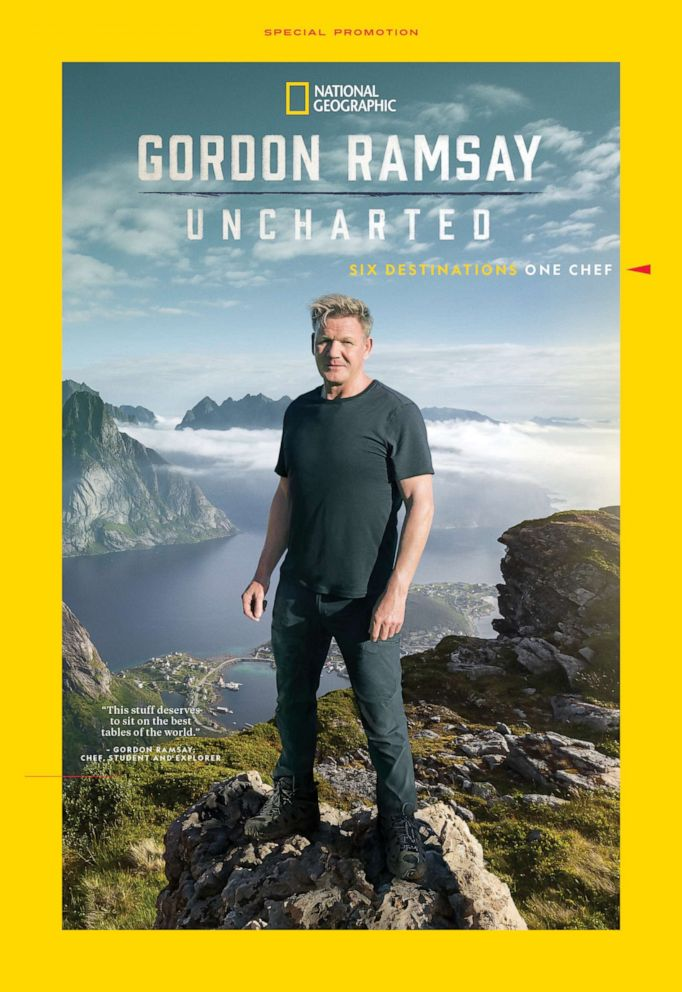 PHOTO: Gordon Ramsay National Geographic show, Gordon Ramsay: Uncharted.