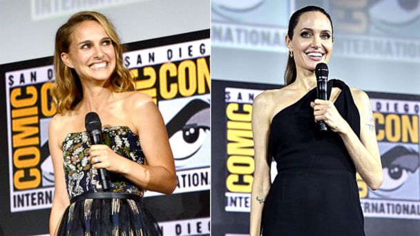 Angelina, Natalie and Scarlett: Marvel going all in on female empowerment for phase 4