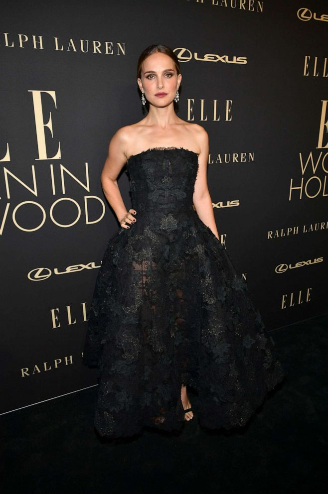 PHOTO: Natalie Portman attends ELLEs 26th Annual Women In Hollywood Celebration Presented By Ralph Lauren And Lexus at The Four Seasons Hotel Los Angeles on October 14, 2019, in Beverly Hills, Calif.