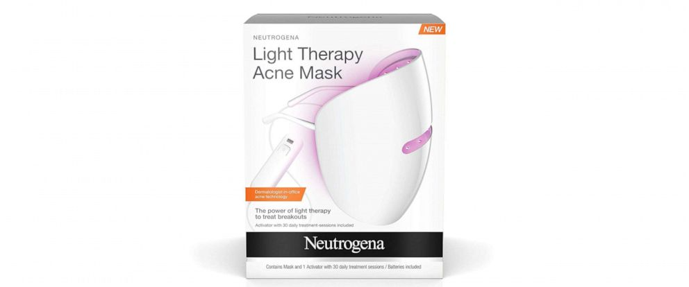 PHOTO: In this file photo, the Neutrogena Light Therapy Acne Mask is shown.