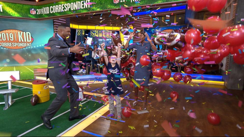 PHOTO: GMA announced that this years kid correspondent will be Camdyn Clancy, 8, from Alaska.