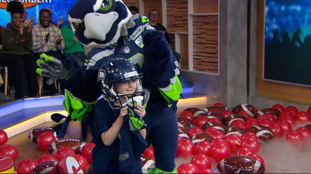 """""""GMA"""" announced that this year's kid correspondent will be Camdyn Clancy, 8, from Alaska."""