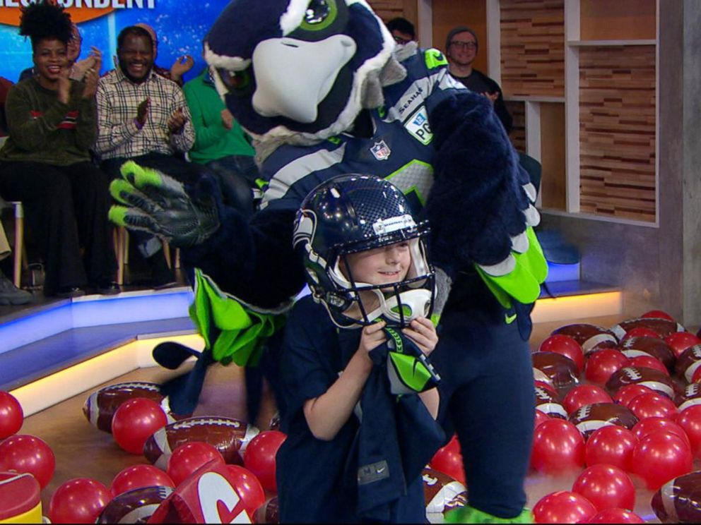 c0b018b8 Alaska boy stunned to be picked as NFL Kid Correspondent for Super ...