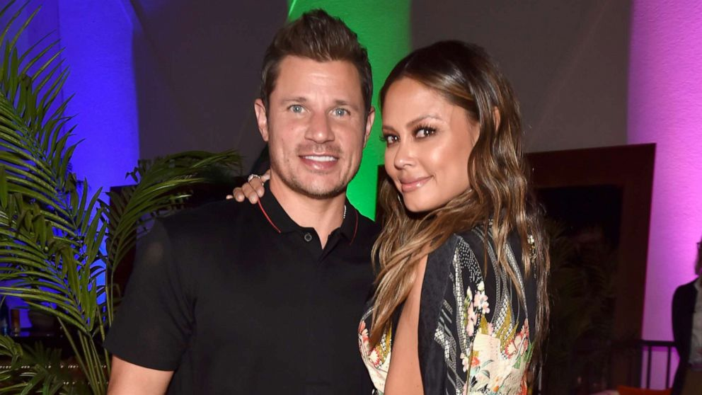 Nick Lachey and Vanessa Lachey attending JBL Fest, an exclusive, three-day music experience hosted by JBL in Las Vegas, Oct. 19, 2018.