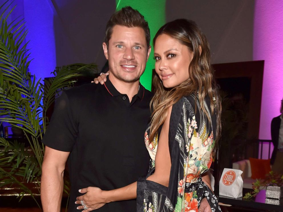 PHOTO: Nick Lachey and Vanessa Lachey attending JBL Fest, an exclusive, three-day music experience hosted by JBL in Las Vegas, Oct. 19, 2018.