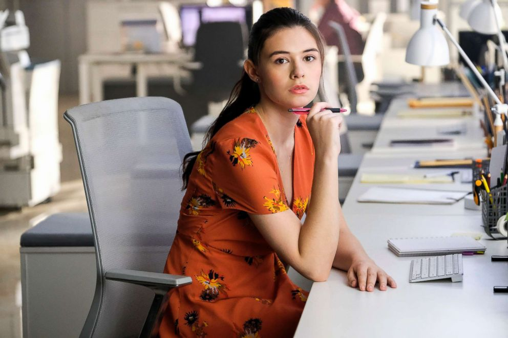 PHOTO: Nicole Maines as Nia Nal in a scene from Supergirl.