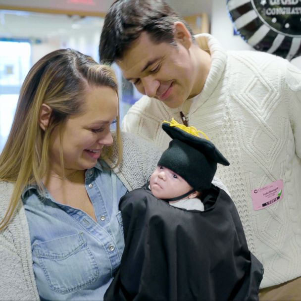 This Baby Celebrated His Last Day In The Nicu With A Touching