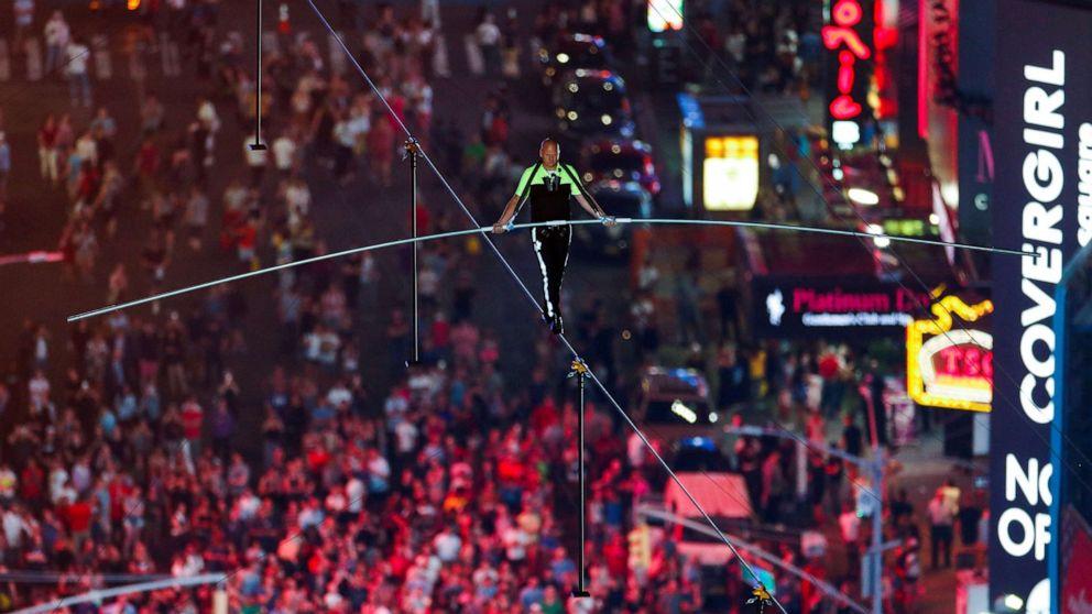 Acrobat announces next big high-wire stunt
