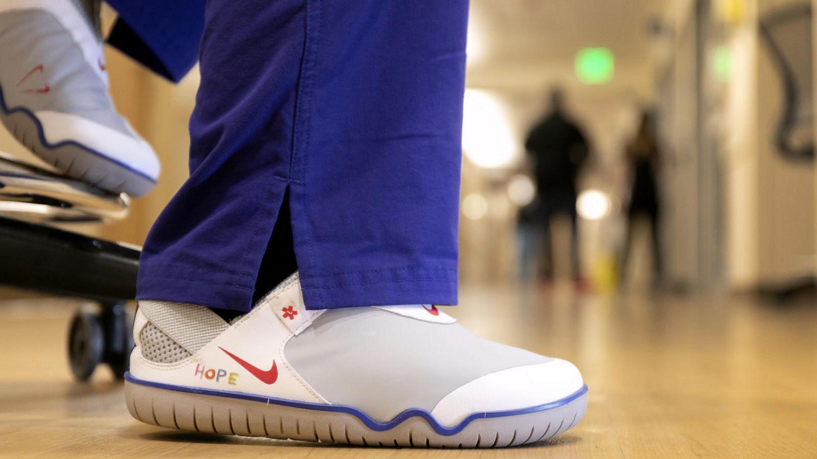 Nike donates 30,000 Air Zoom Pulse