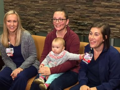 Nurses donate breast milk to mom with breast cancer