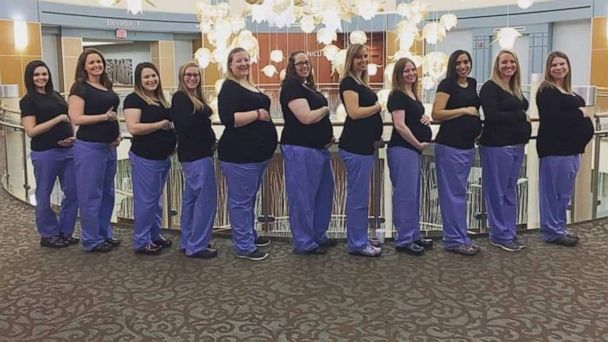 11 Labor And Delivery Nurses Pregnant At Ohio Hospital What S Behind These Baby Booms