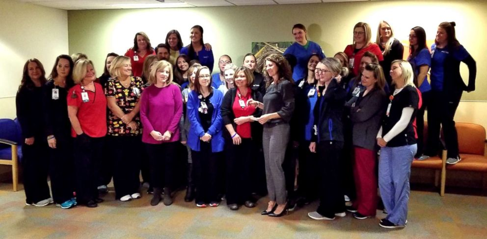 PHOTO: Nurses at Mercy Childrens Hospital in Missouri won around $7,000 after taxes in a recent Mega Millions jackpot.