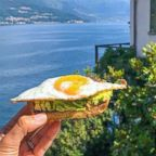 Anna Brown, of Nutrition Squeezed, shares a recipe for avocado toast and egg.
