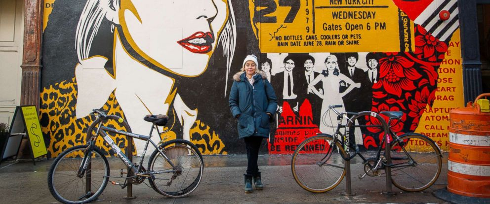 PHOTO: Author, producer and activist Amy Richards gives a feminist walking tour of NYC.