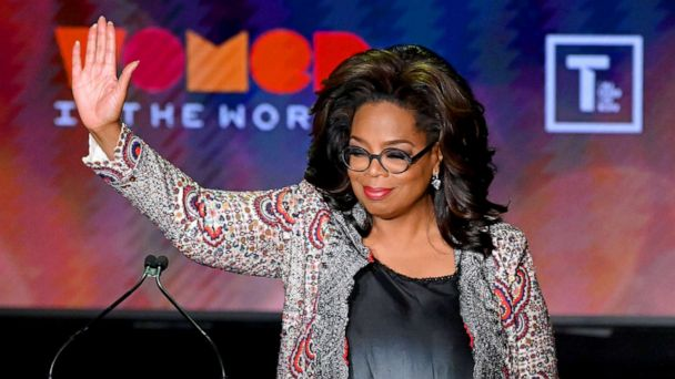 Oprah Winfrey: 'It is time for women in the world to set the agenda'