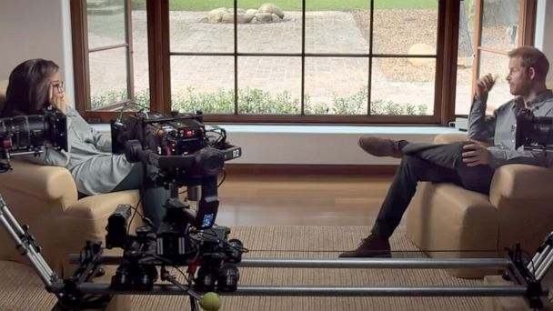 Prince Harry, Oprah Winfrey share behind the scenes details of new  docuseries 'The Me You Can't See' | GMA