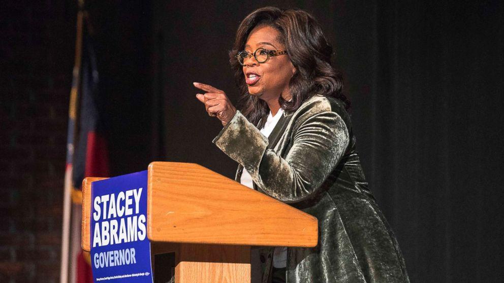 oprah winfrey persuasive speech