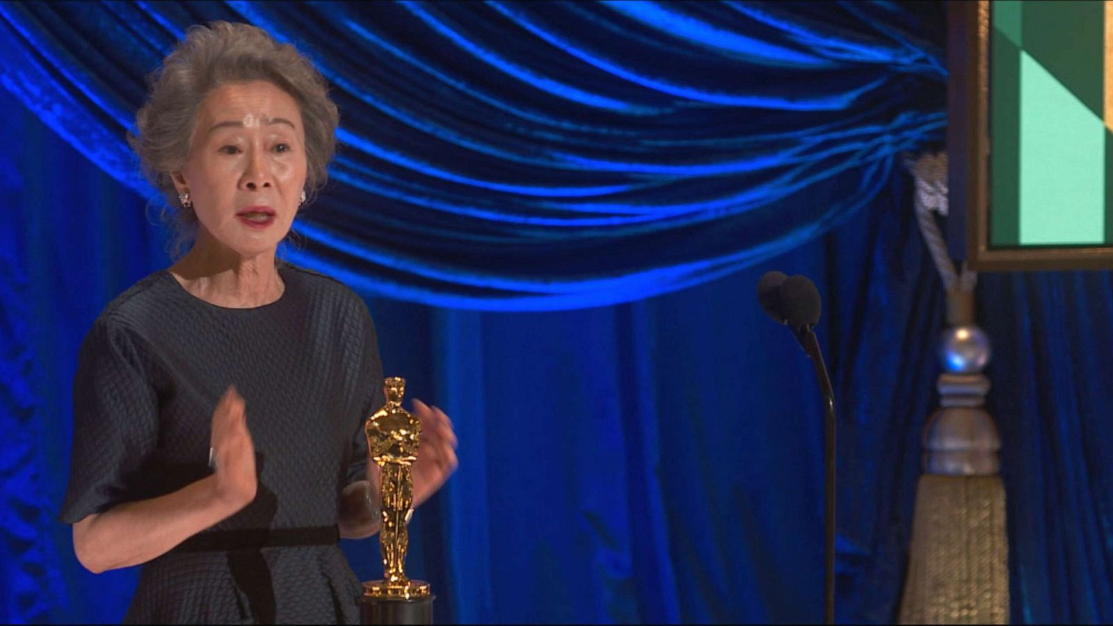 Oscars 2021: Yuh-Jung Youn wins best supporting actress, gives memorable  speech - ABC News