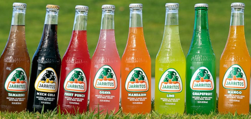 PHOTO: An assortment of Jarritos Mexican soda is part of the unofficial Distinctive Assets Oscars swag bag.