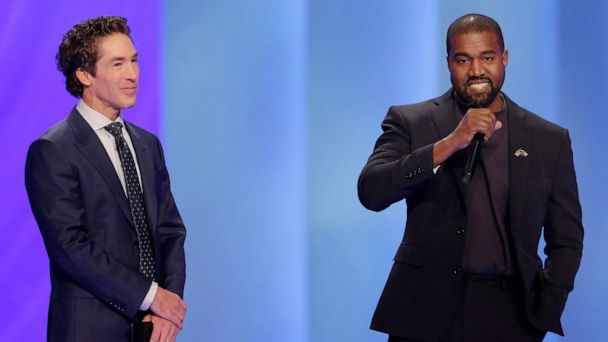 Kanye West opens up about his faith during visit to pastor Joel Osteen's Houston megachurch