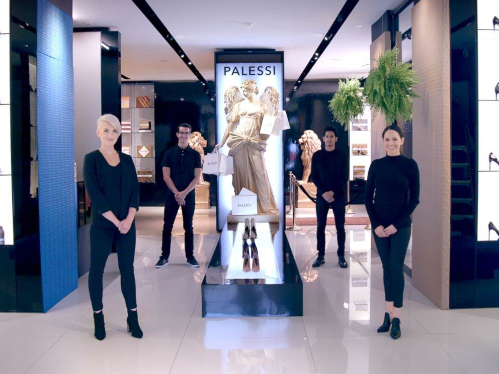 PHOTO: Payless shoes rebrands as luxury store Palessi for an ad campaign, and people spent hundreds of dollars on their $20 shoes.