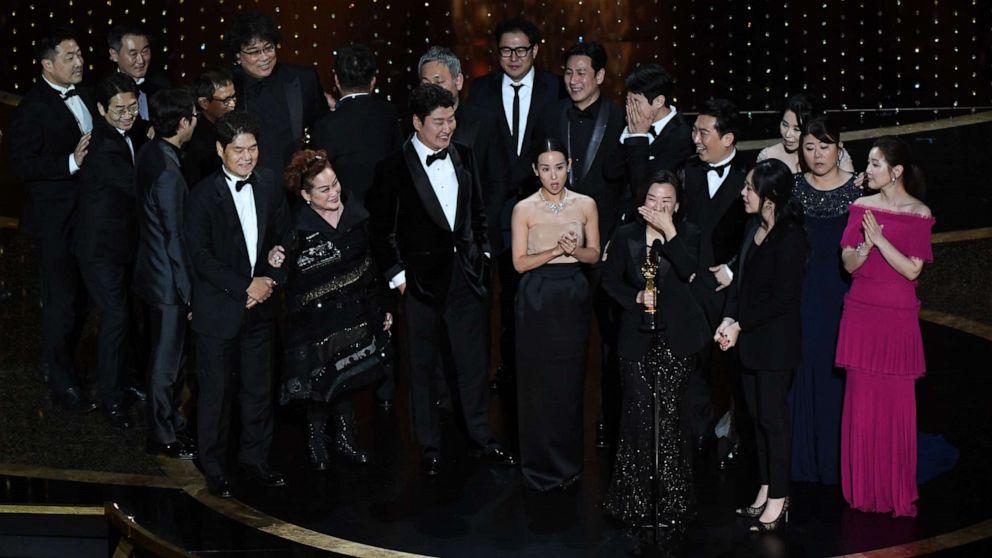 Resultado de imagem para parasite Oscars 2020