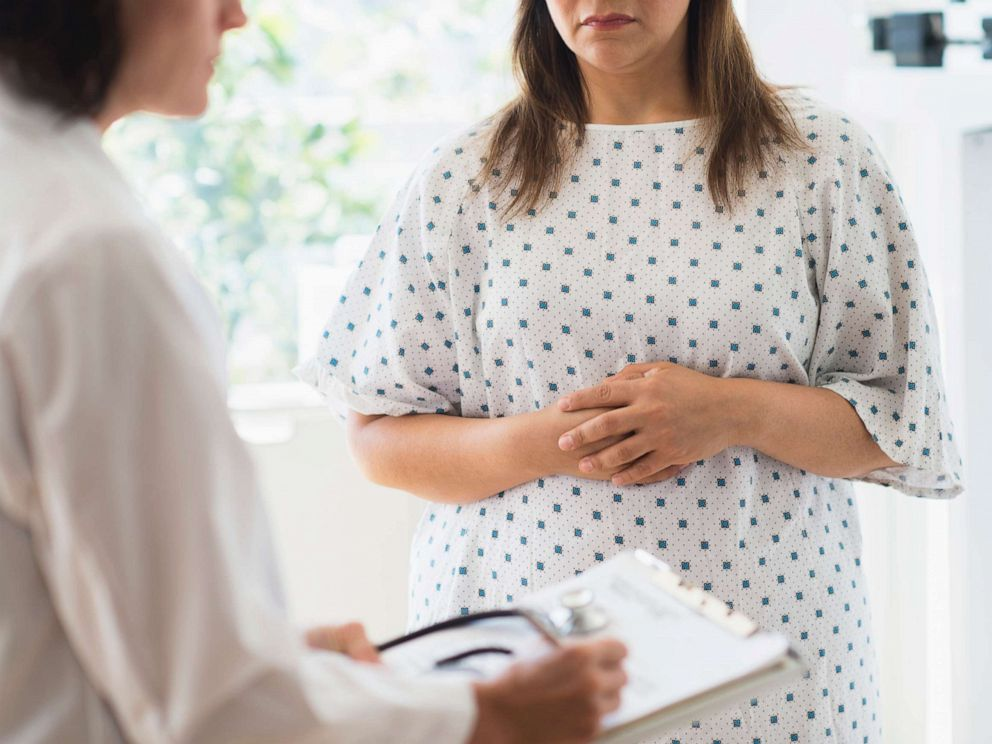 PHOTO: A patient talks to a doctor in this stock photo.