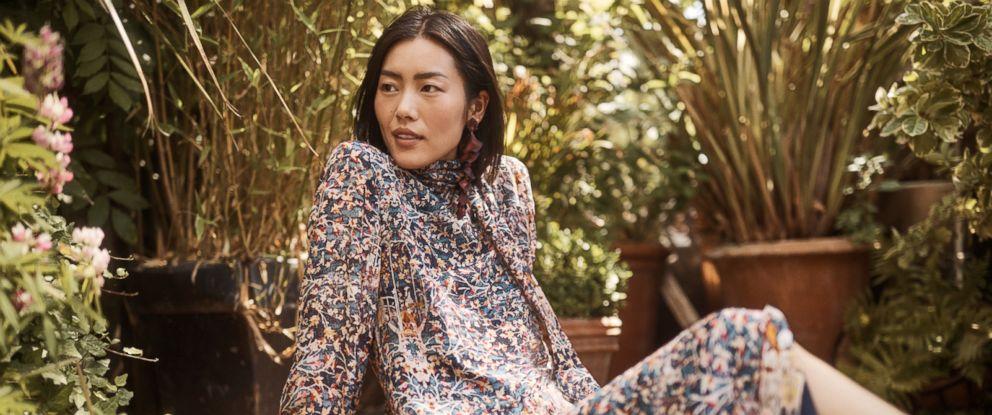 PHOTO: Patterned Silk Dress