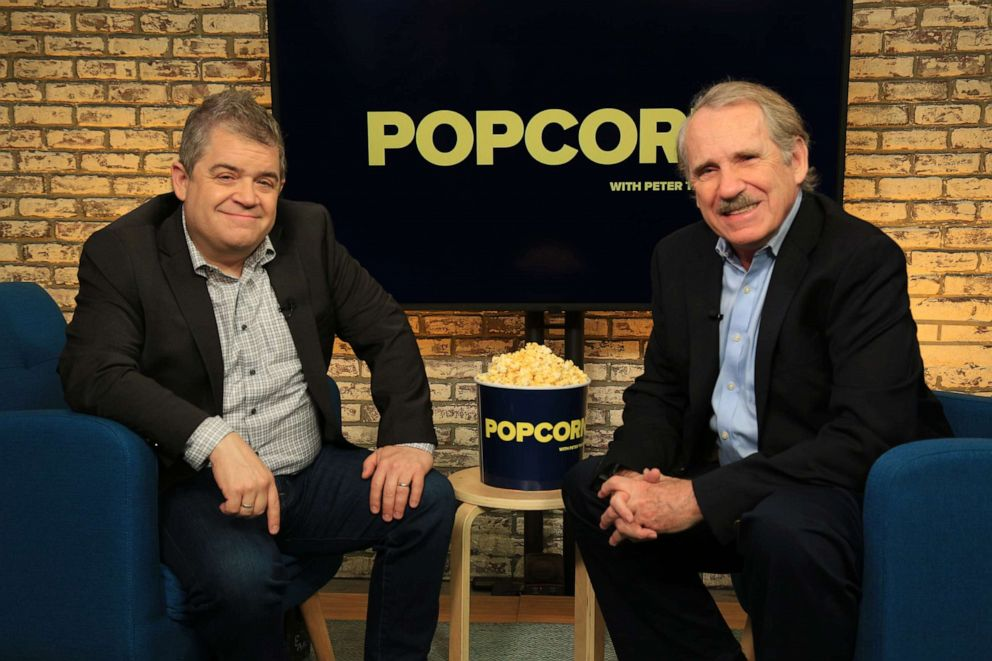 PHOTO: Patton Oswalt appears on Popcorn with Peter Travers at ABC News studios, May 20, 2019, in New York.
