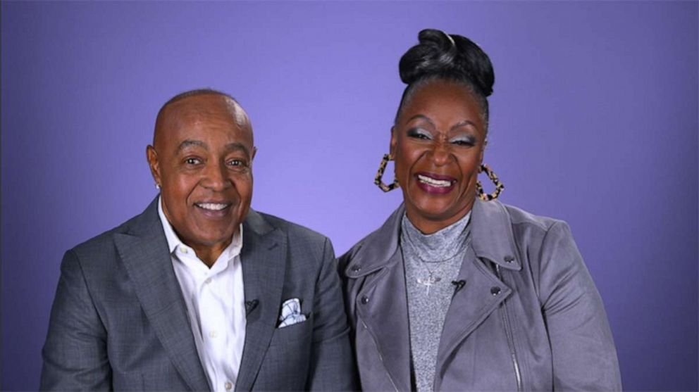 PHOTO: Peabo Bryson and Regina Belle, the iconic duo behind Disneys hit single A Whole New World.