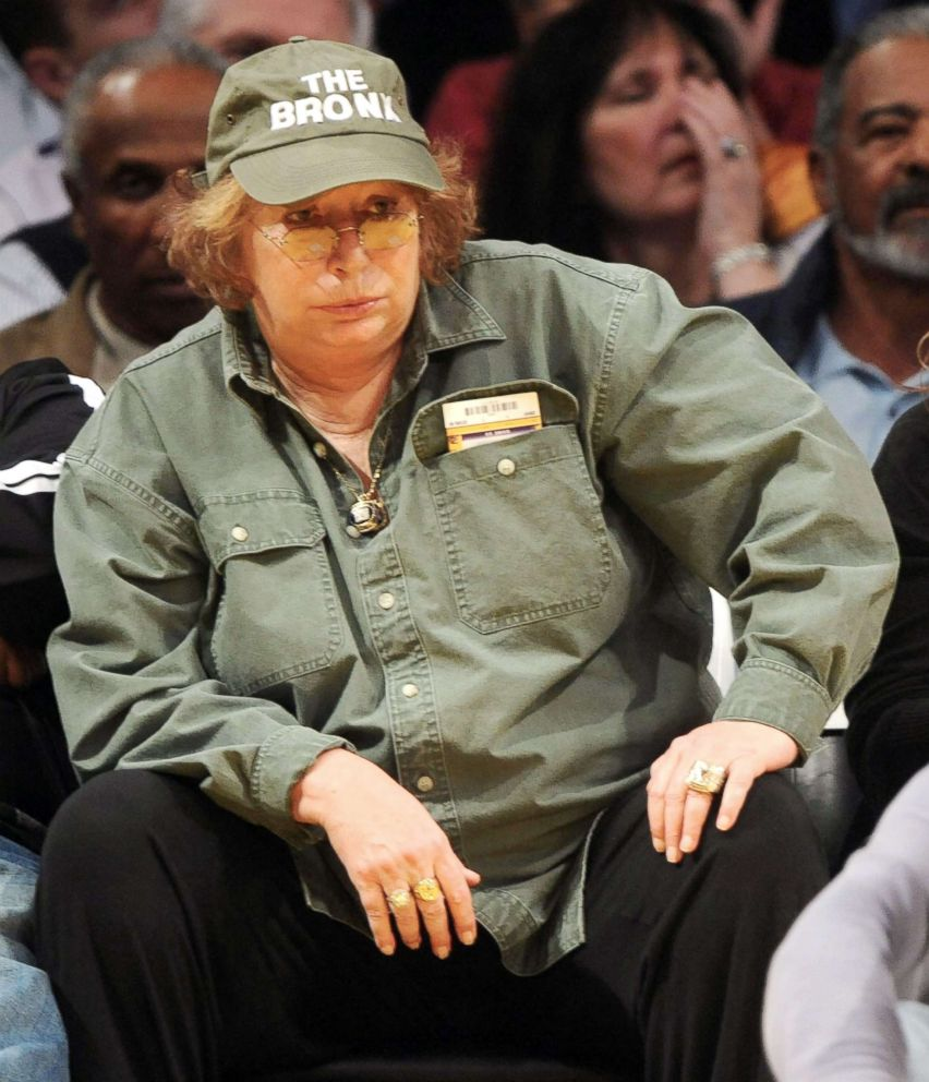 Philip Ramey  Corbis via Getty Images Penny Marshall sits courtside at Staples Center in Los Angeles Feb. 16 2010