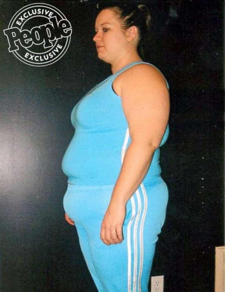PHOTO: Elizabeth Hronek was inspired to lose weight after giving birth to her daughter.