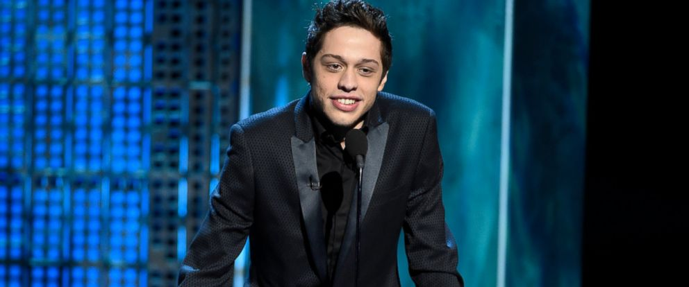 PHOTO: In this March 14, 2015, file photo, Pete Davidson speaks at a Comedy Central Roast in Culver City, Calif.