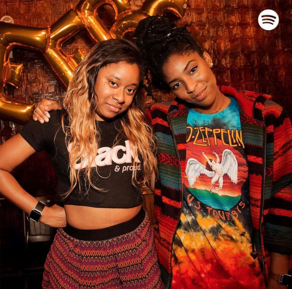 PHOTO: Phoebe Robinson and her 2 Dope Queens co-host, Jessica Williams.