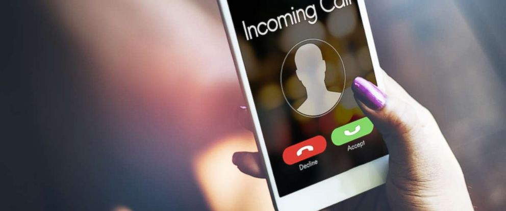 PHOTO: A cell phone receives a call in this stock photo.