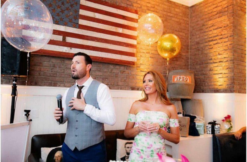 PHOTO: Rachel ONeil Dave Kochba Surprise wedding