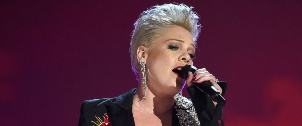 PHOTO: P!nk performs onstage during MusiCares Person of the Year honoring Dolly Parton at Los Angeles Convention Center, Feb. 8, 2019, in Los Angeles.