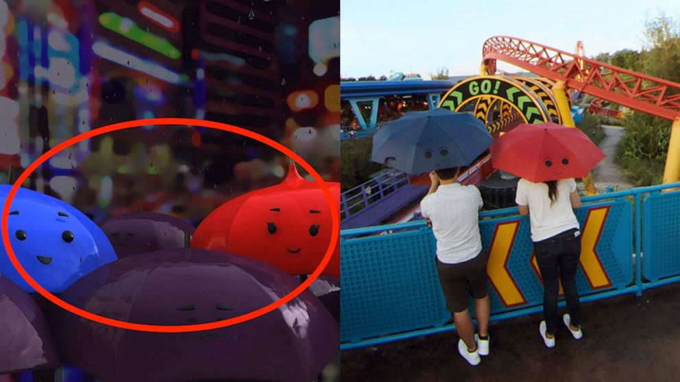 Disney reveals Pixar Easter eggs hidden throughout Toy Story Land in Google Street View