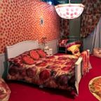 The Pizza Experience is a pop-up museum featuring multiple pizza-themed rooms.