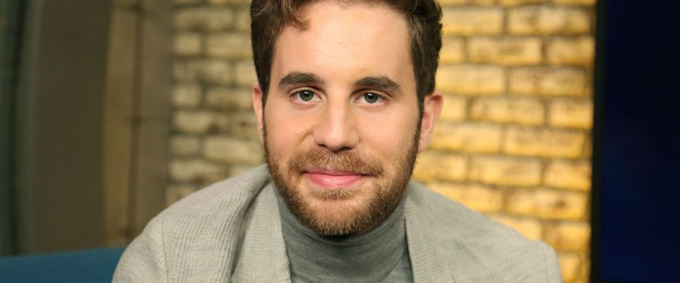 "PHOTO: Ben Platt appears on ""Popcorn with Peter Travers"" at ABC News studios, October 2, 2019, in New York City."