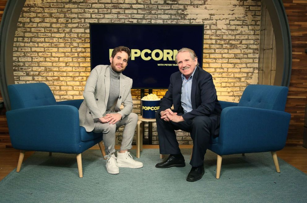 PHOTO: Ben Platt appears on Popcorn with Peter Travers at ABC News studios, October 2, 2019, in New York City.