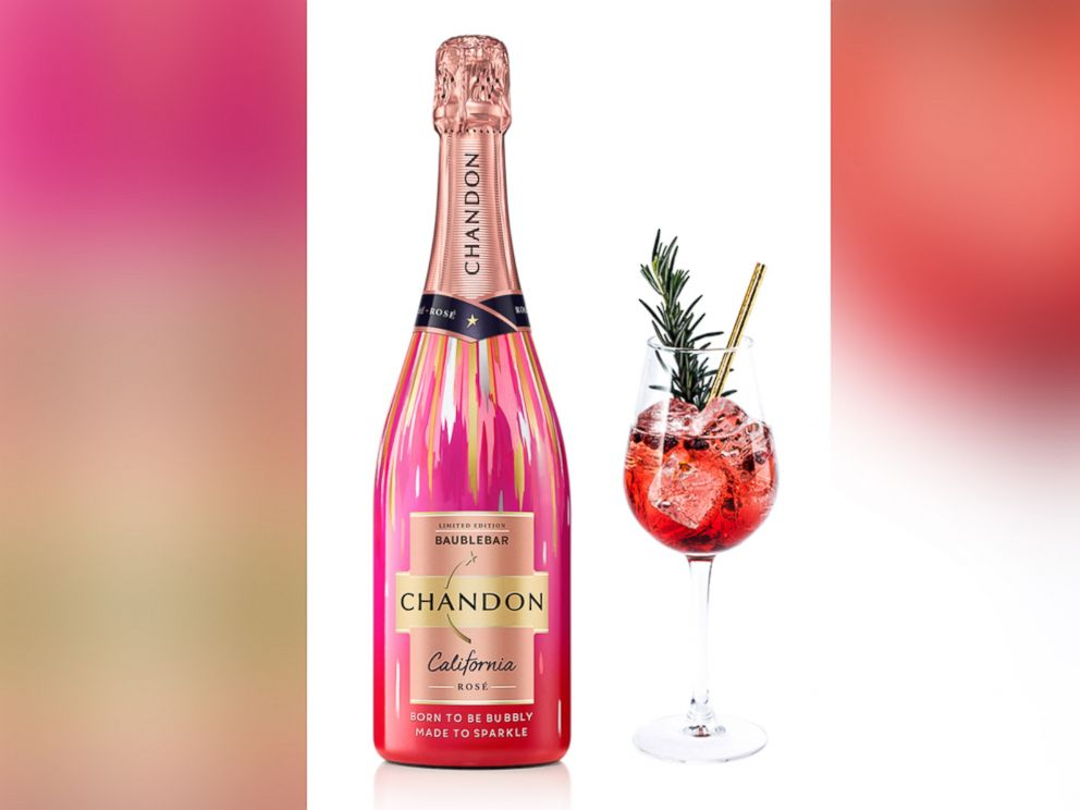 PHOTO: This champagne and pomegranate cocktail is the perfect drink for New Years Eve .
