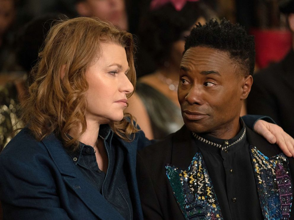 PHOTO: Sandra Bernhard, as Nurse Judy, and Billy Porter, as Pray Tell, in a scene from Pose.