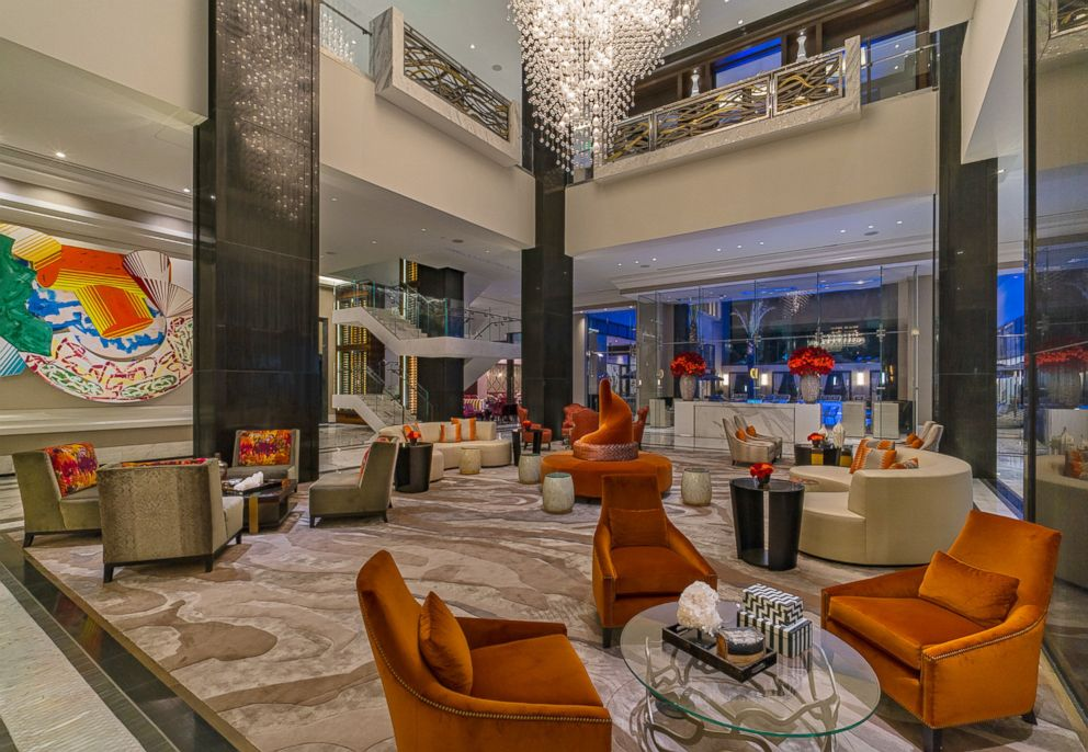 PHOTO: The lobby of The Post Oak Hotel at Uptown Houston.