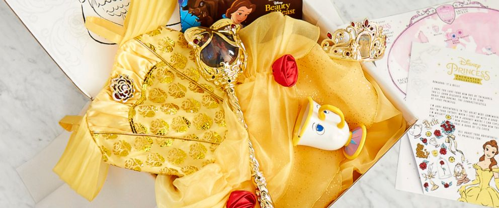 PHOTO: The Disney Princess Enchanted Subscription Box service includes toys and fun activities for children to learn valuable stories about the Disney Princesses.