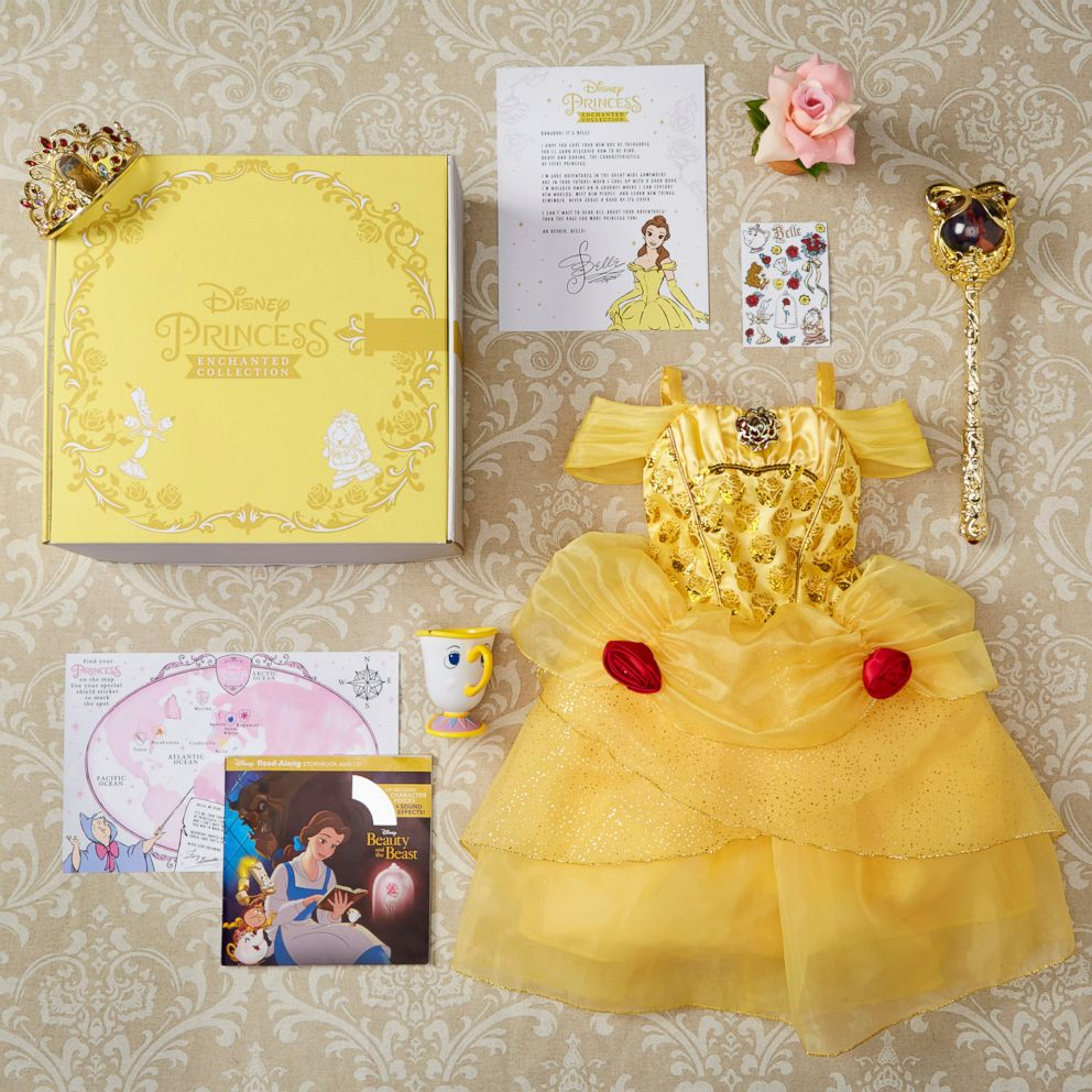 PHOTO: The Disney Princess Enchanted Subscription boxes feature six different Disney Princesses.