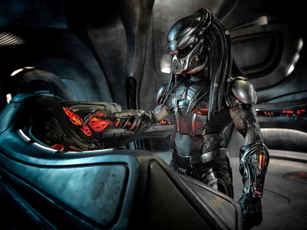 PHOTO: Scene from the re-booted film, The Predator.